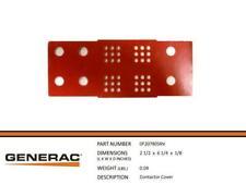 Generac 0D9618 Contactor Cover Part# 0F20780SRV