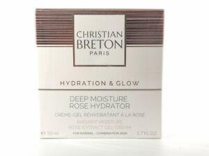 Christian Breton Deep Moisture Rose Hydrator For Normal/Combination Skin, 50ml