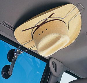 Car Hat Holder Kwik Stick Saver Equestrian Akubra Hard Helmet Holder Suction Cup