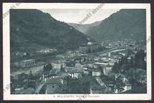 BERGAMO SAN PELLEGRINO TERME 104 Cartolina viaggiata 1933