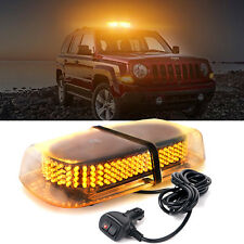 Amber 240-LED Rooftop Emergency Warning Beacon Safety Strobe Light Snow Plow