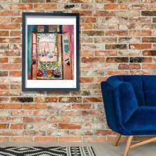 Adesivi e decalcomanie da parete finestre per la decorazione della casa, tema arte