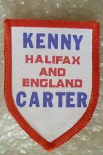 SPEEDWAY Patch- Kenny Carter of Halifax and England Patch / Cloth Badge (New*)