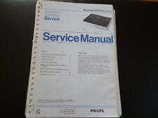 Original Service Manual Philips N 2515