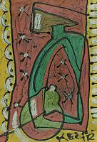 Bohumil Samuel KECIR 1904 - 1987 - Abstrakte Komposition