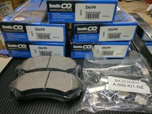 Bendix D699 Disc Brake Pad Set-FWD Front