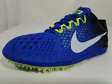 Nike Zoom Matumbo 3 D Track Shoes Size 4.5 Youth Track & Field Blue 835995-413