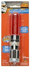 Star Wars Darth Vader Mini Lightsaber Bubble Maker with Light-up Wand