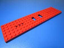 LEGO 1 Tren Placa Base 6x24 EN ROJO 6584a