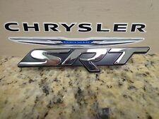 15-17 Dodge Challenger New SRT Grille Emblem Chrome & Black Mopar Factory Oem