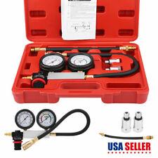 New Cylinder Leak Tester Petrol Engine Compression Leakage Leakdown Detector Kit