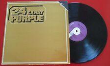 DEEP PURPLE **24 Carat Purple** RARE & SCARCE 1985 FAMA COVER REISSUE Spain LP