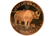 1 oz Copper Round - Rhino