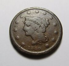 1840 LARGE CENT ~ NICE!  ~ COMBINED SHIPPING  LOT R65