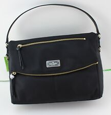NEW AUTHENTIC KATE SPADE LYNDON BLACK WILSON ROAD HANDBAG TOTE WKRU4919 WOMEN'S