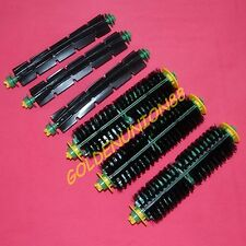 3pairs Bristle & flexible Beater Brush for iRobot Roomba 500 510 530 560 570 580