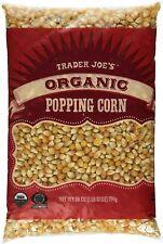 3X Trader Joe's Organic Popping Corn Kernels Popcorn