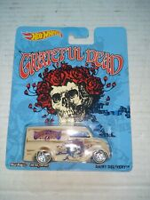 Grateful Dead 2013 Hot Wheels DAIRY DELIVERY Skull & Rose's Truck / Van