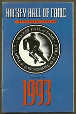 1993 (Summer) Hockey Hall of Fame Guide, Inaugural Issue for New Hall Opening