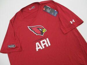 New NWT Under Armour XXL 2XL  Arizona Cardinals Combine Authentic T shirt poly