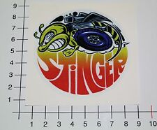 Stinger Pegatina Sticker rythm abeja Hot Rod Custom cars tuning Bee mi332