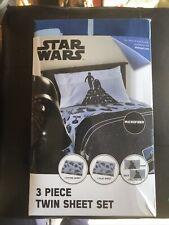 New Jay Franco Star Wars 3 Piece Microfiber Twin Sheet Set Disney