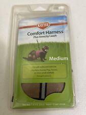 Kaytee Super Pet Bronze Tan Comfort Harness W/Stretchy Stroller Medium New
