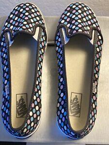 Women's Vans KVD Slip On Polka Dot Sneakers Discontinued Style Sz 5.5 VGUC