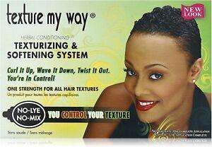 Africa's Best Women's Texture My Way Texturizing & Softening System Texturizer