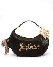 100% authentic Juicy Couture Gigi Velour Satchel hobo bag NWT