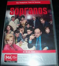 The Sopranos The Complete Fourth Season 4 (Australia Region 4) DVD – New