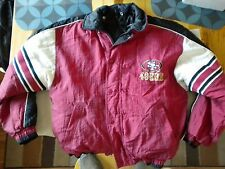 Pro Tuff SF 49ers Women's XL 18-20 Reversible Jacket (No Hood) in good condition
