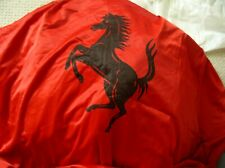 OEM Ferrari 488 GTB Red Satin indoor car cover W/ Mirror Pockets + Logos