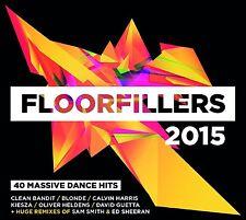 VARIOUS ARTISTS - FLOORFILLERS 2015: 2CD ALBUM SET (2015)
