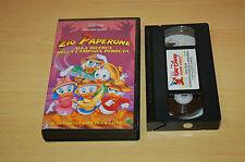 Zio Paperone alla ricerca della lampada perduta (1992) VHS ORIGINALE VS 4364
