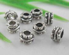 FreeShip 120pcs Tibetan Silver Spacers Beads 3x5mm (Lead-free)