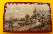Porte Aiguilles a Coudre Ancien, 1943, 4 cartes Postale la rose n°211,
