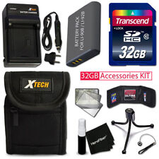 Olympus STYLUS XZ-2iHS - 32GB Memory Accessories KIT + Btry / Chrgr + Case +MORE
