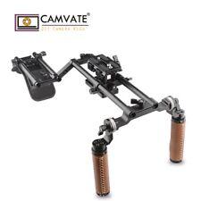 CAMVATE Camera Shoulder Rig ARRI Rosette Handgrip Kit Mount For DSLR Camcorder