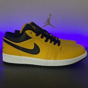 Nike Air Jordan 1 Low Size 9 University Gold