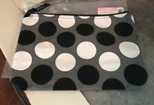 Thirty One Large Zipper Pouch - Got Dots - NEW In Package