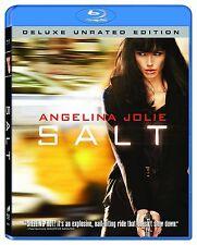 USED BLU-RAY // SALT -  ANGELINA JOLIE - ENGLISH AND FRENCH