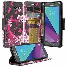 HTC U11 / HTC Ocean PU Leather Wallet Case Phone Protector Pouch Credit Card