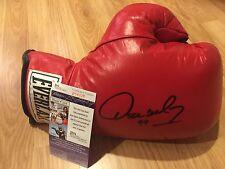 Oscar De La Hoya Signed Auto Everlast Boxing Glove COA JSA