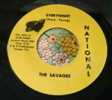 Unknown Florida Garage Punk Private 45 The Savages Everynight NATIONAL HEAR
