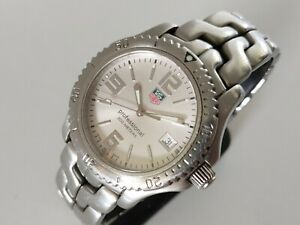 TAG Heuer Link automatic C.O.S.C Chronometer Watch WT5113 with Box & Papers VGC