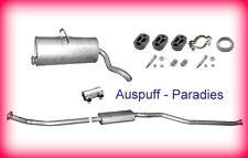 Abgasanlage Auspuff Citroën Berlingo 1.1, 1.4 & 1.6 16V (MF & M_) ab 10/2003+Kit