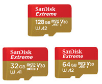 SanDisk Extreme Micro SD Card 32GB 64GB 128GB Samsung Android Smartphones Lot