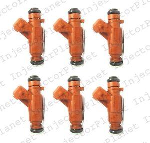 Set of 6 Bosch 0280156016 fuel injector Mercedes M112 E37 V6 3.7L A1130780249
