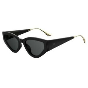 DIOR DIOR-CATSTYLEDIOR-1-807-2K-53  Sunglasses Size 53mm 145mm 20mm Black Brand